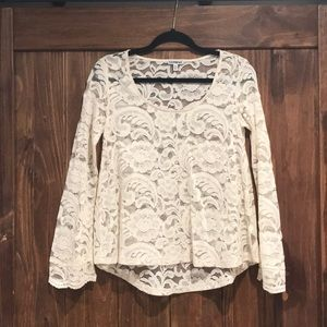 Express lace top - NWOT